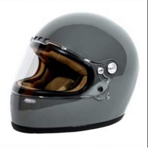 Cool Garage Racer helm grijs gloss