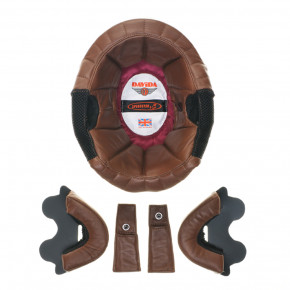 ZNUT BROWN LEATHER LINER KIT FOR DAVIDA SPEEDSTER V3