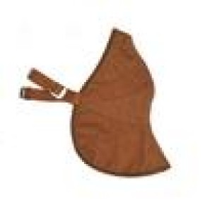 DAVIDA BROWN LEATHER FACE MASK UNIVERSAL BROWN MK 2
