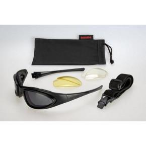 Davida 74 WRS Mk1 black zonnebril
