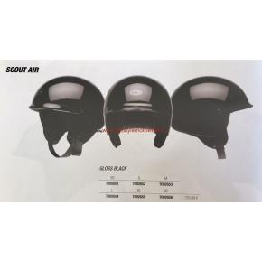 Bell Scout Air Jet helm gloss zwart
