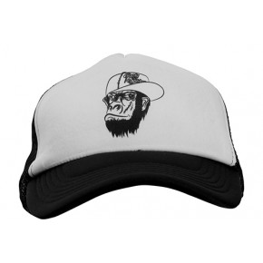 Rusty Stitches cap Davy black white