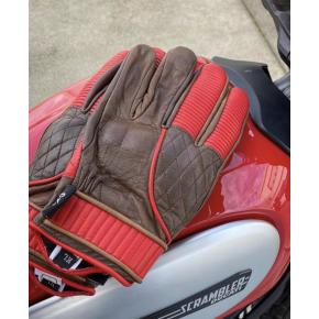 Cool Garage Adventure bruin rood motor handschoenen