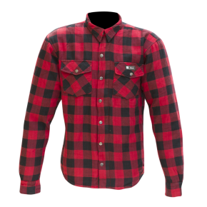 Merlin Axe lumberjack red