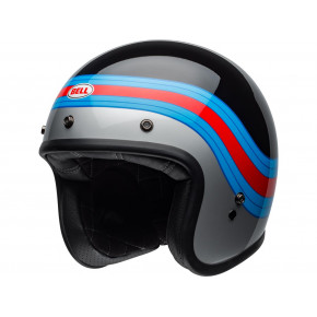 BELL Custom 500 DLX Helmet Pulse Gloss Black/Blue/Red