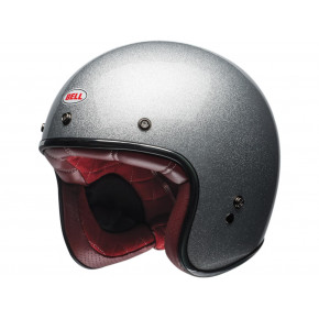 BELL Custom 500 DLX Helmet Gloss Silver Flake