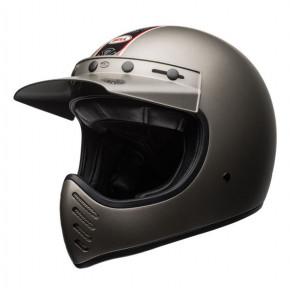 BELL Moto-3 Helmet Independent Titanium Mat
