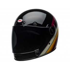 BELL Bullitt DLX Helmet Burnout Gloss Black/White/Maroon