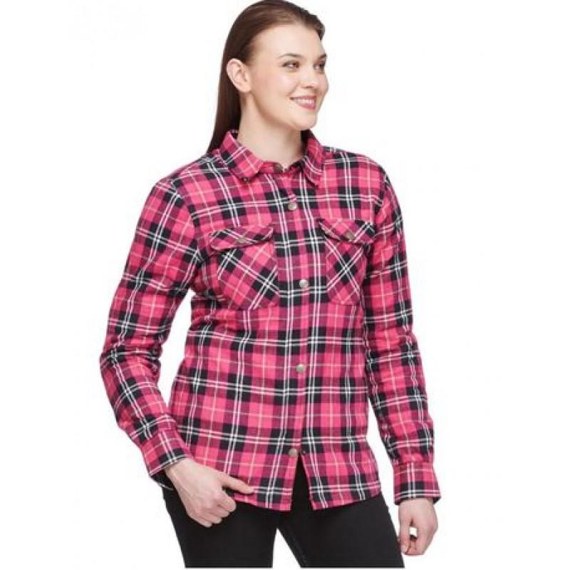 Sweep shirt Kevlar Manitou black/pink