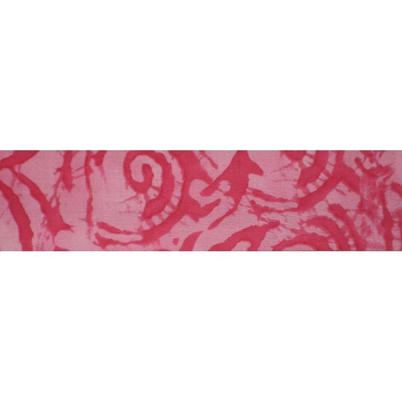 Cobber afkoelsjaal red tie dye