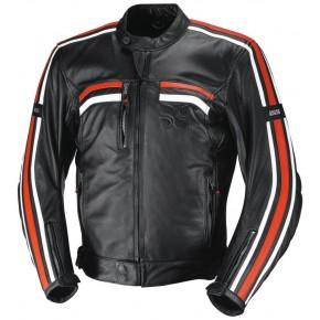 IXS EDWIN X-Jacket black/white/orange