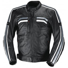 IXS EDWIN X-Jacket black/white/silver