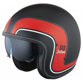 IXS INDIANA X-Helmet HX 78 flat/black/red