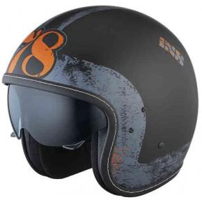 IXS EASY X-Helmet HX 78 flat/black/silver