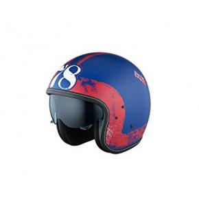 IXS EASY X-Helmet HX 78 blue/red/flat