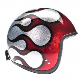 Davida Spd Cosmic Flake silver red Flame