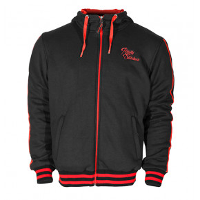 Rusty Stitches Jack/Hoodie GEORGE black/red
