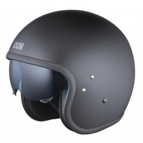IXS jet helm HX78 mat zwart