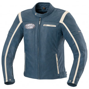 IXS jacket Shawn Blue/Beige
