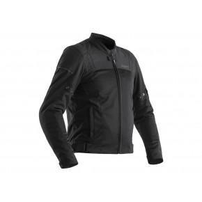 RST Aero CE black textiel doorwaai jas