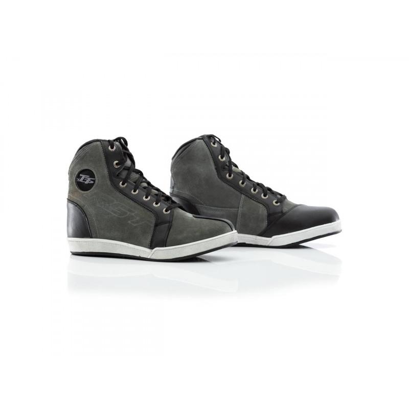 RST IOM TT Crosby Suede WP CE schoenen grijs