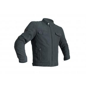 RST IOM TT Crosby Jas Textiel Charcoal zwart