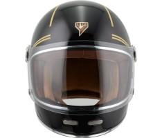 Bycity Roadster Gold Black helm