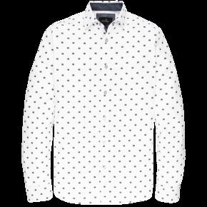 Vanguard overhemd helm print bright white