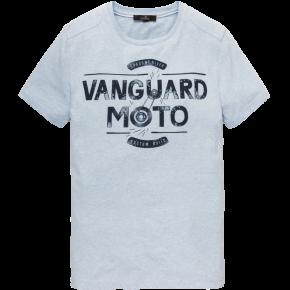 Vanguard R-neck Single Jersey licht blauw
