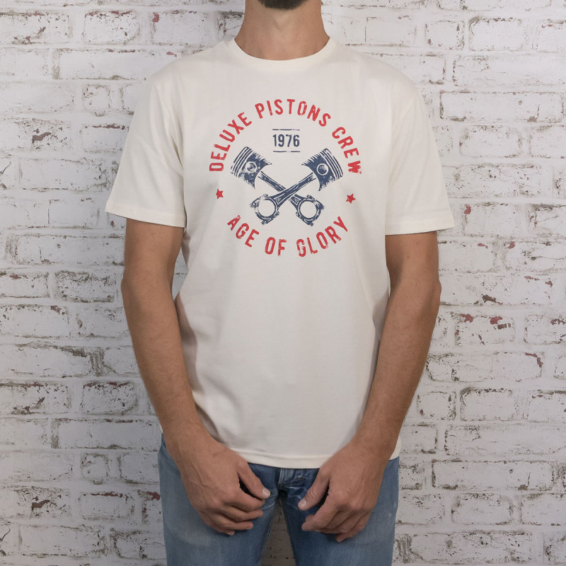 Age of Glory Deluxe Piston T-shirt off white