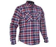 Oxford Kickback shirt Blue/Red