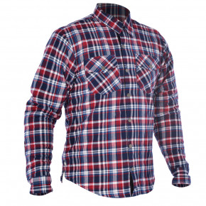 Oxford Kickback shirt Blue/Red