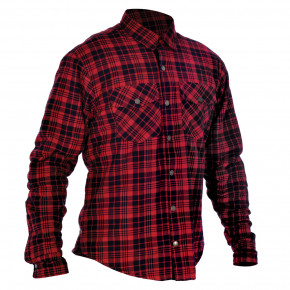 Oxford Kickback shirt Red/Black