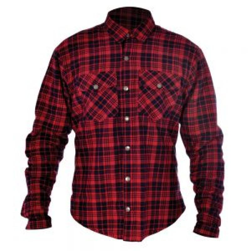 Oxford Kickback shirt Red/Black