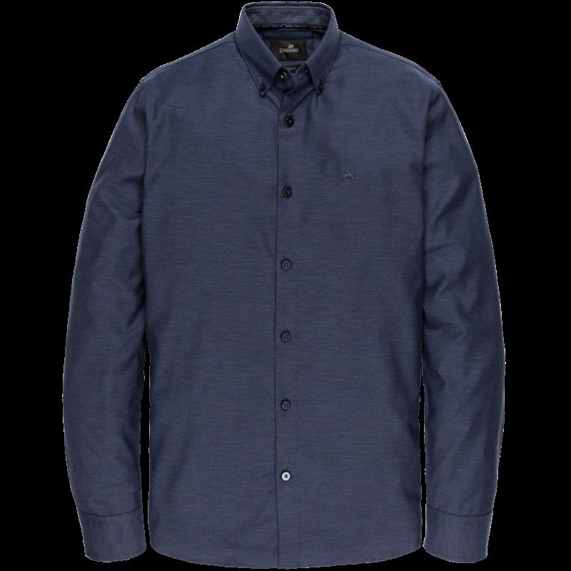 Vanguard overhemd CF solid navy blue