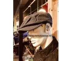 Peaky cap black