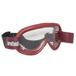Baruffaldi helmbril Speed 4 imperial rood (met 3 glazen)